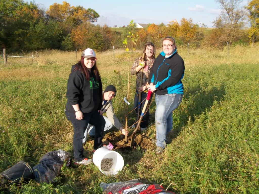 DNR Trees for Kids Planting Day 10/17/2014